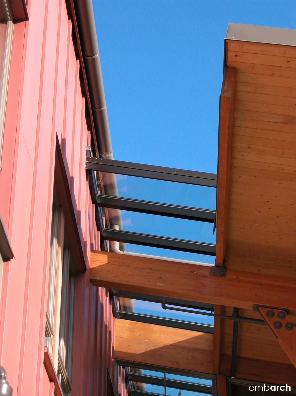 Bainbridge Island City Hall - exterior detail