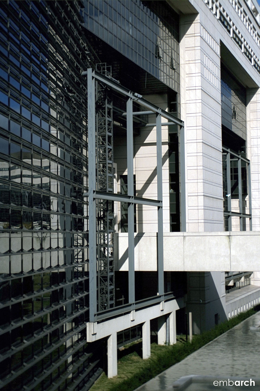 Ministry of Finance - exterior detail