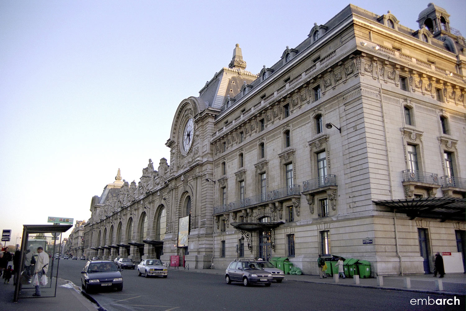 Musee D'Orsay - view of exterior