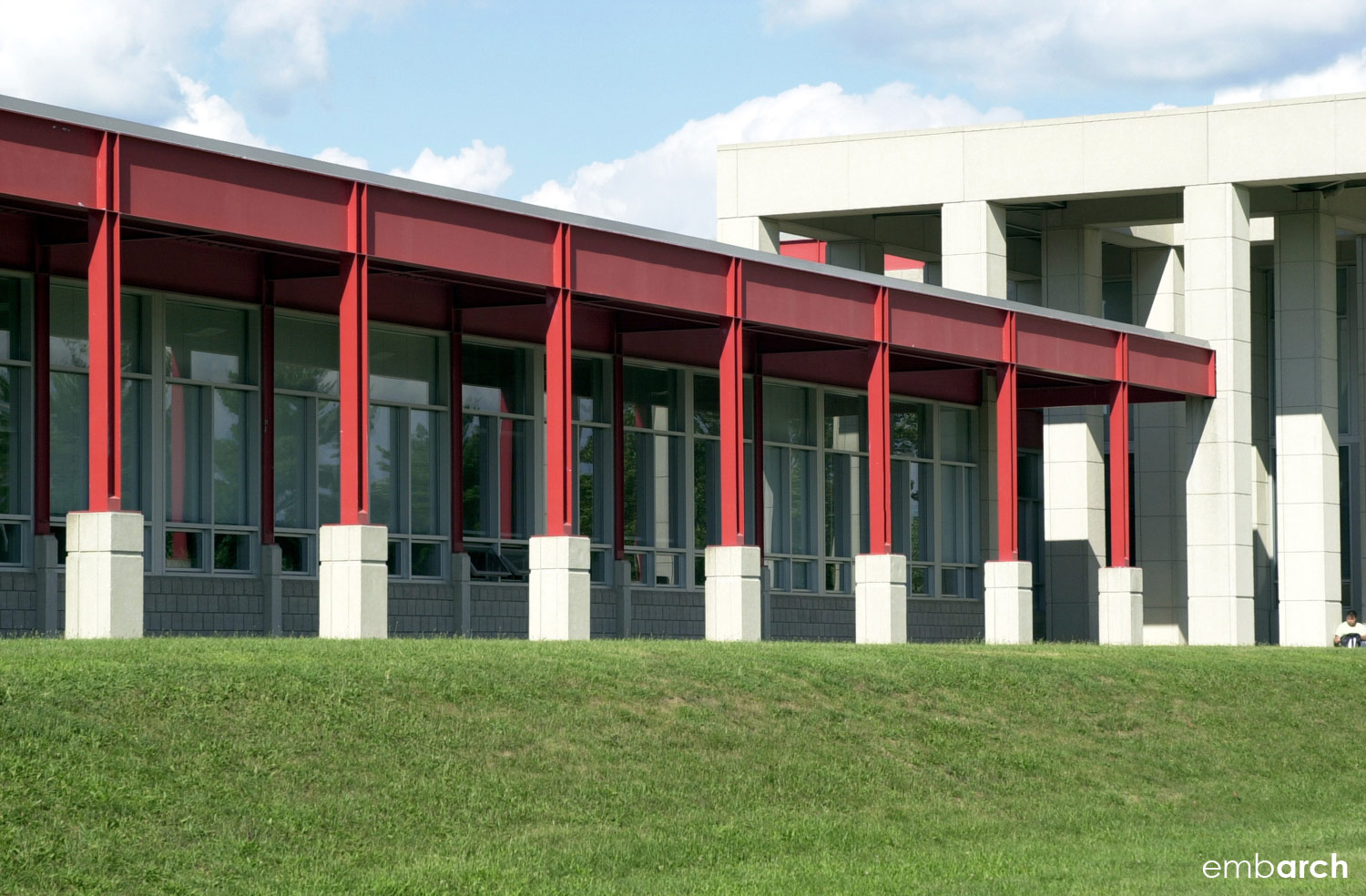 Northside Middle School addition - exterior