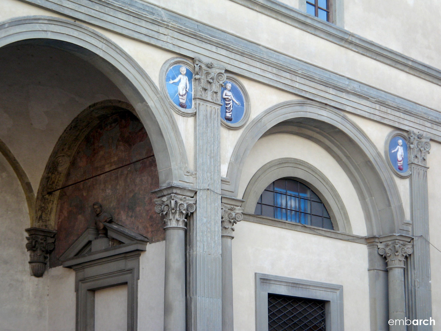 Hospital of the Innocents - exterior detail