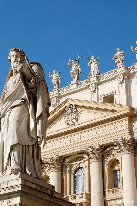 St. Peter's Basilica - exterior detail