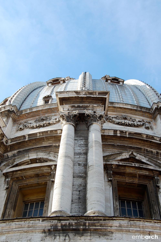 St. Peter's Basilica - exterior dome detail