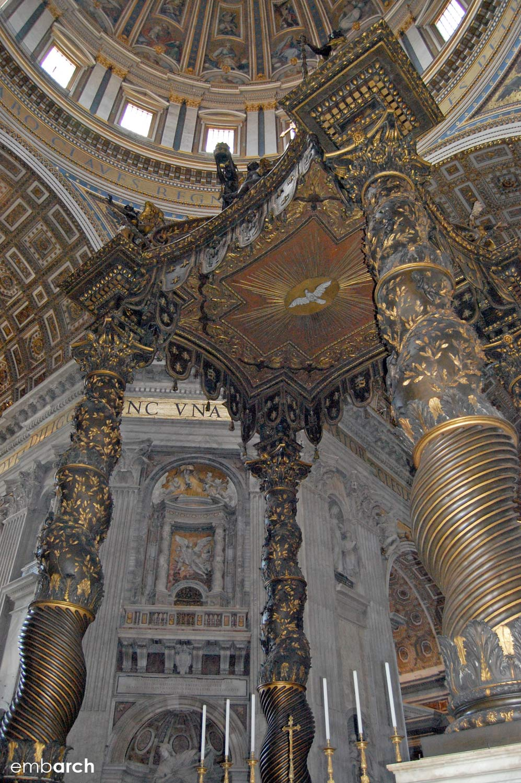 St. Peter's Basilica - altar canopy