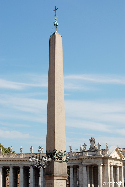 St. Peter's Basilica - obelisk