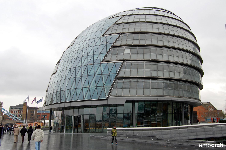 London City Hall - exterior view