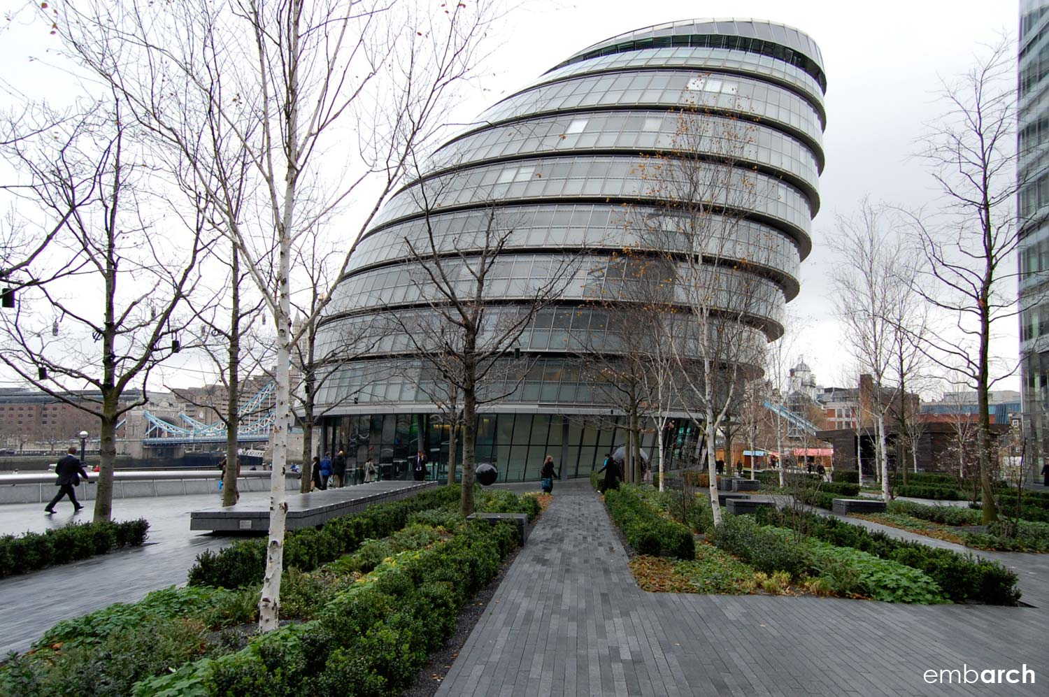 London City Hall - view of exterior