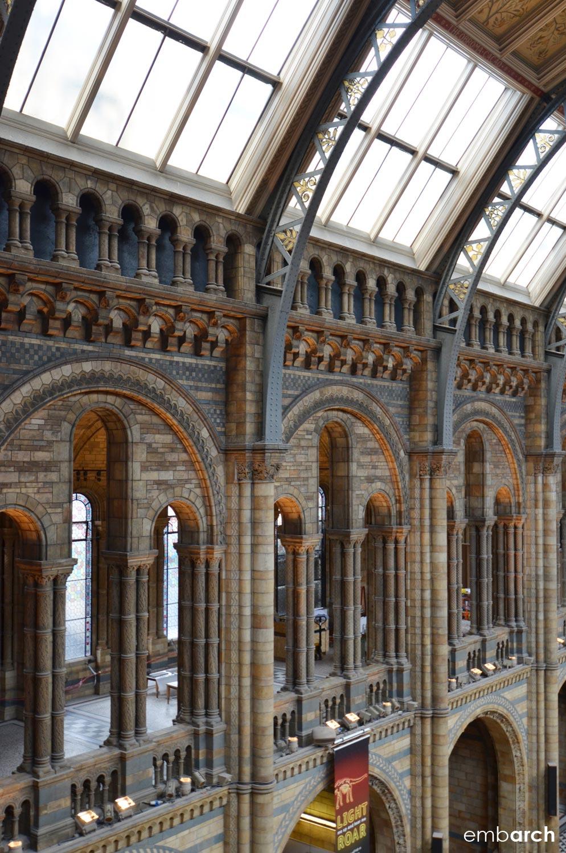 Natural History Museum, London - interior detail