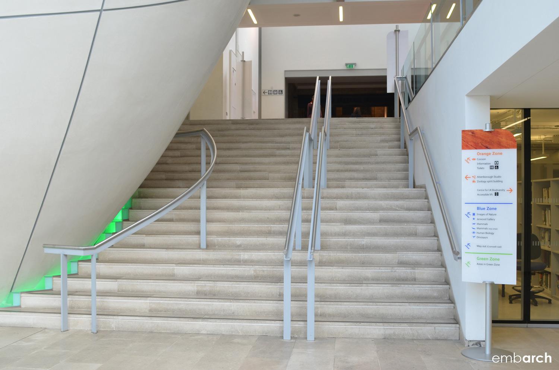 Darwin Center at the Natural History Museum, London - interior