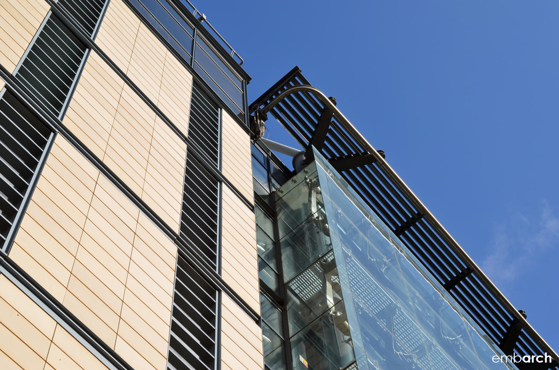 Darwin Center at the Natural History Museum, London - exterior detail