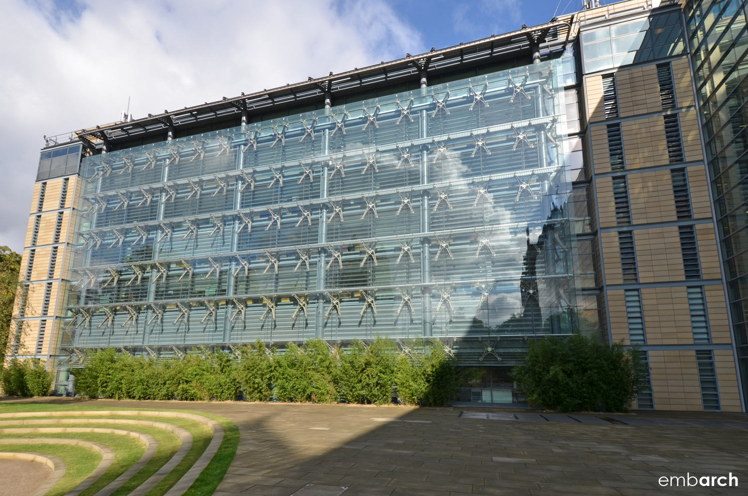 Darwin Center at the Natural History Museum, London - view of exterior