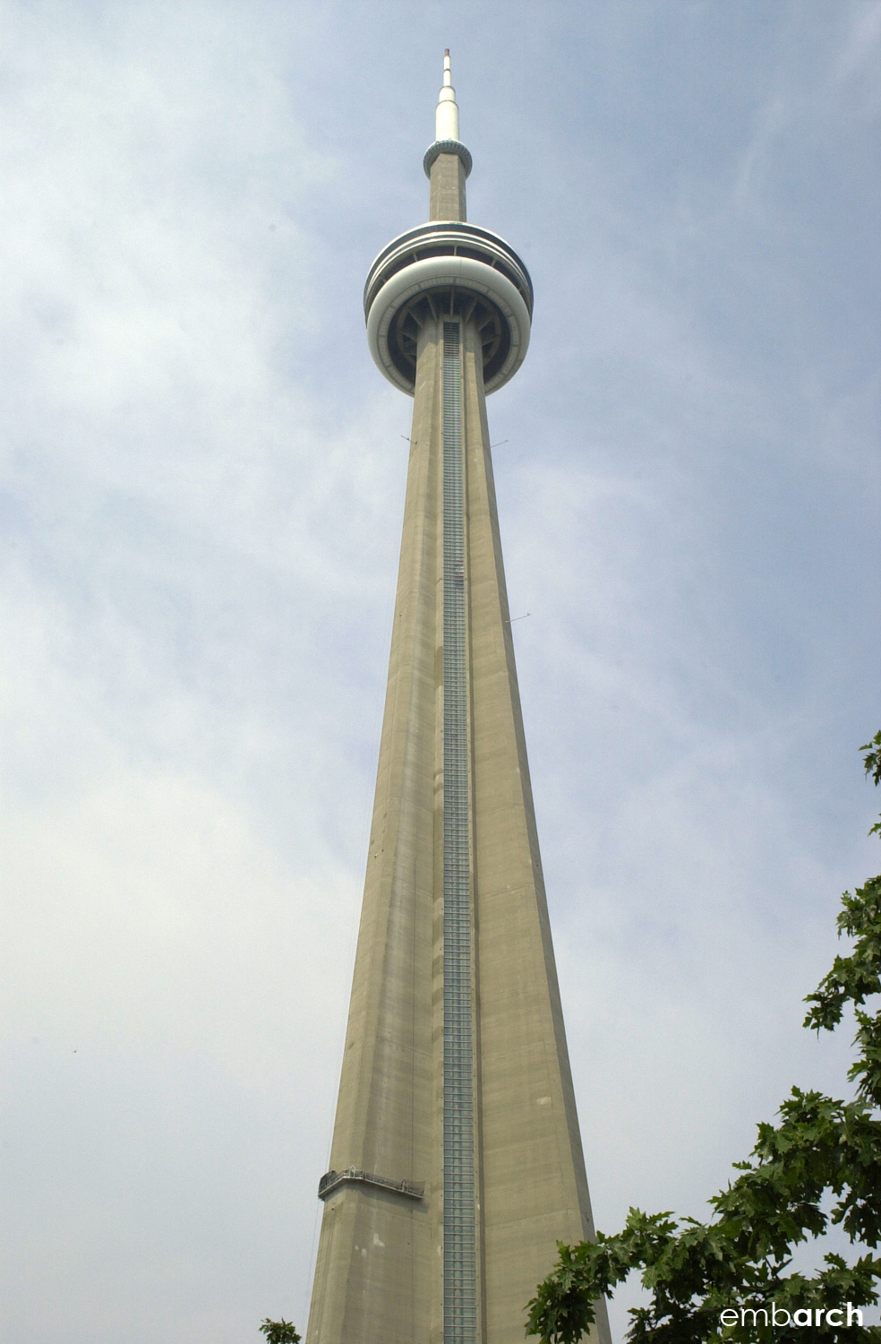 CN Tower - view of exterior