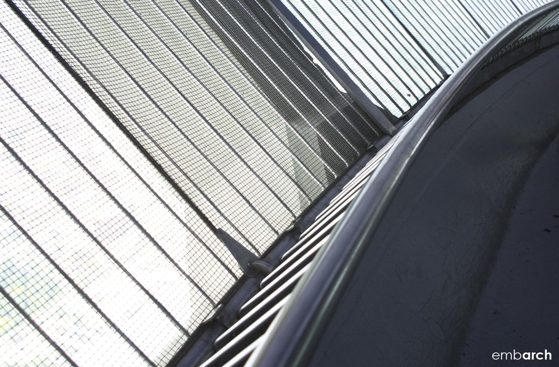 CN Tower - interior window detail