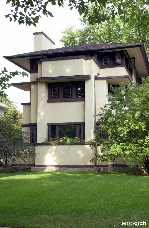 William Fricke House - exterior