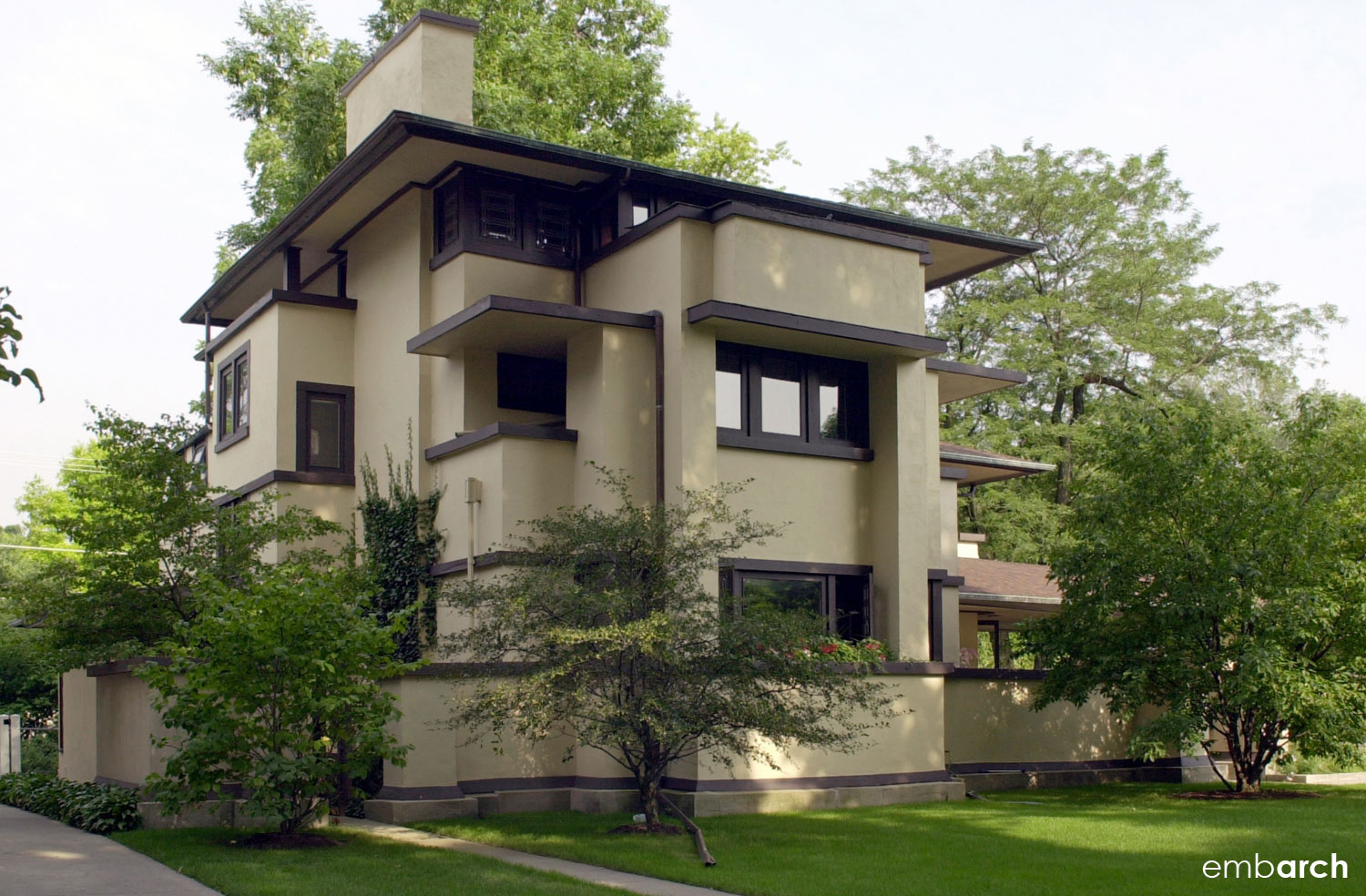 William Fricke House - view of exterior