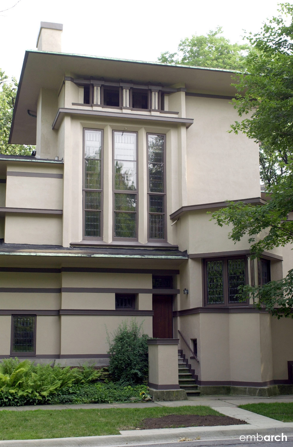 William Fricke House - exterior