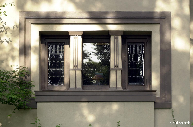 William Fricke House - exterior detail