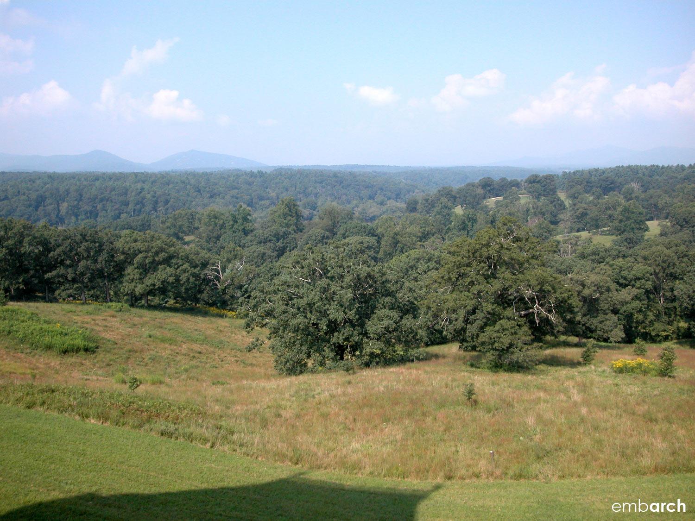 Biltmore Estate - view from estate