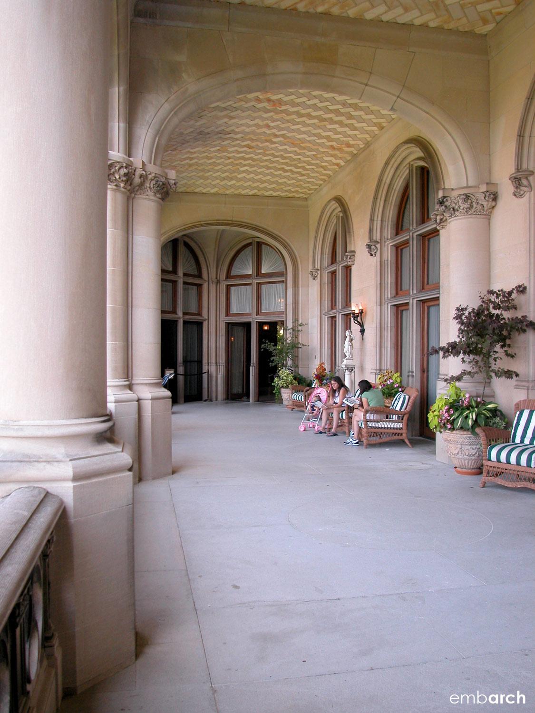 Biltmore Estate - exterior porch
