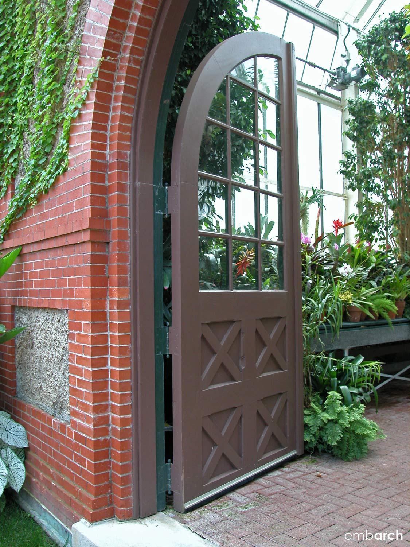 Biltmore Estate - conservatory detail