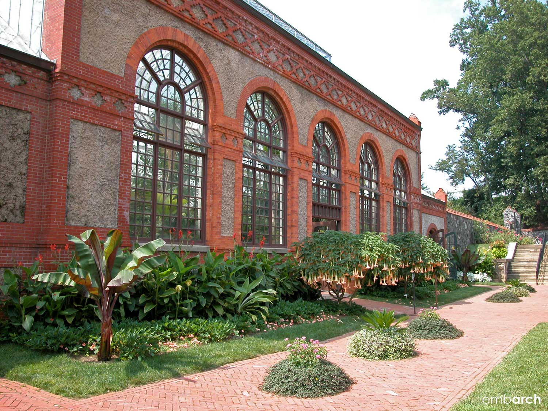 Biltmore Estate - conservatory exterior