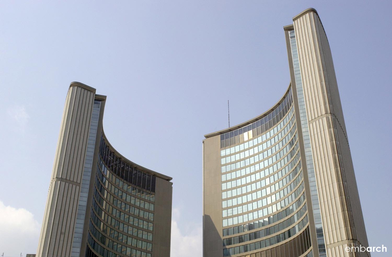 Toronto City Hall - exterior detail