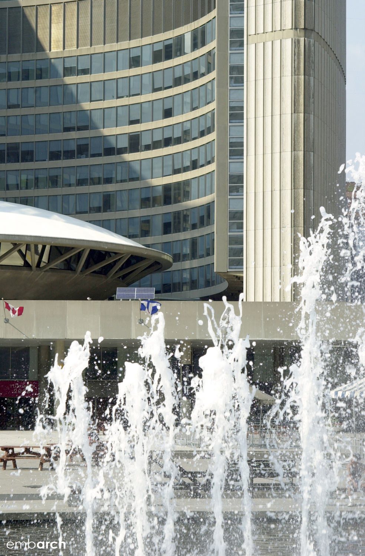 Toronto City Hall - exterior