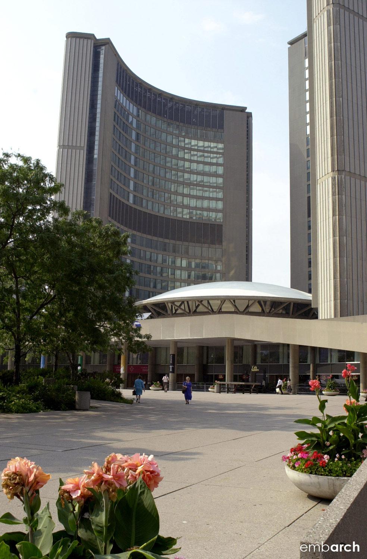 Toronto City Hall - view of exterior
