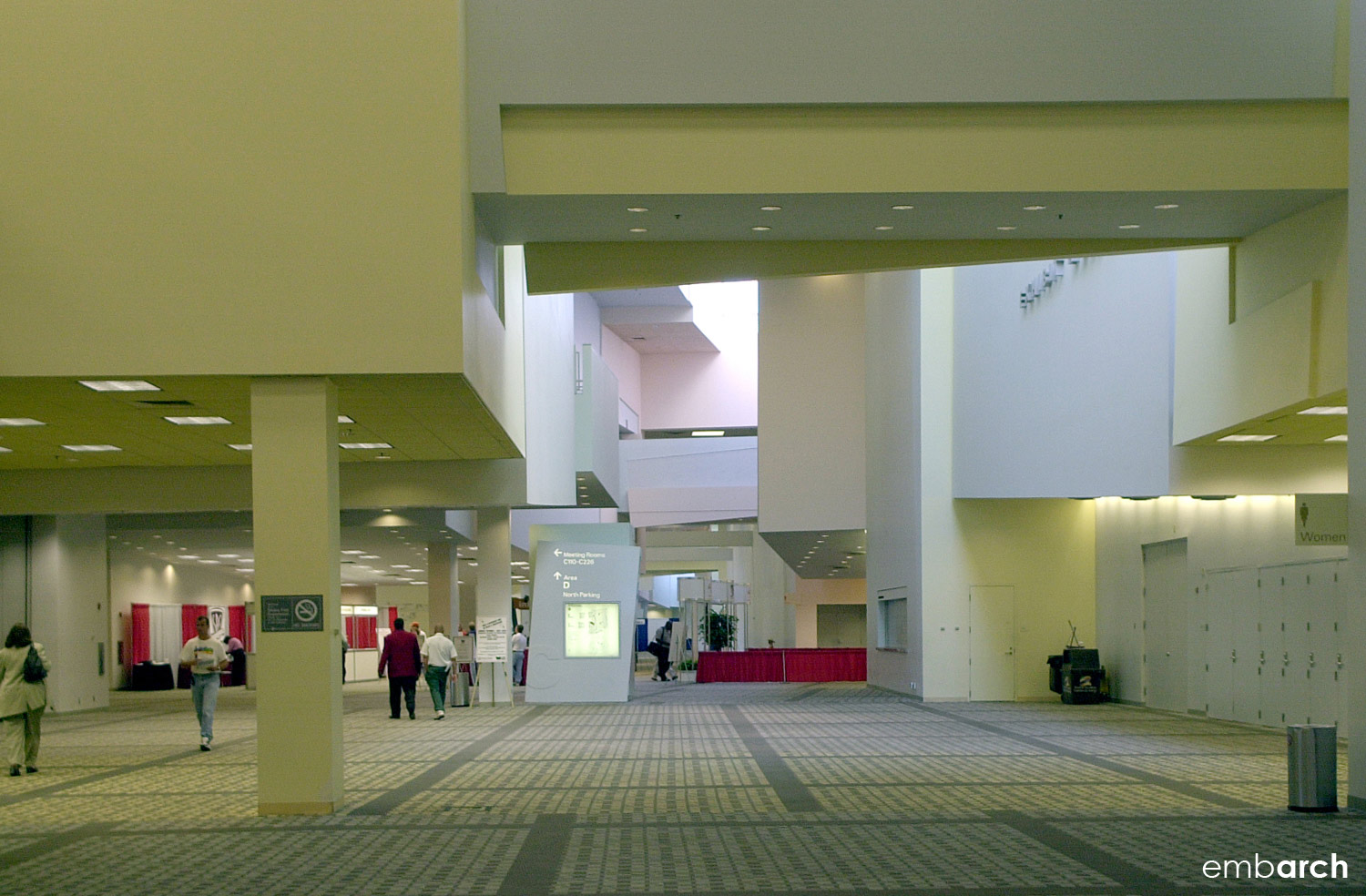 Greater Columbus Convention Center - interior