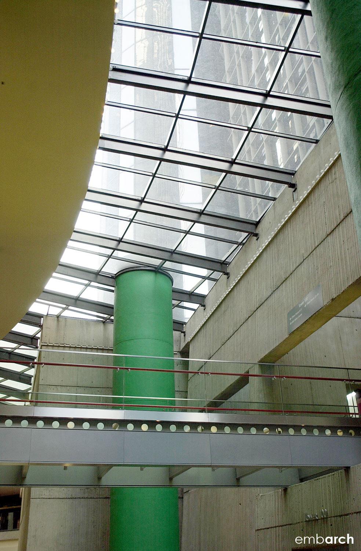 GM Renaissance Center - interior