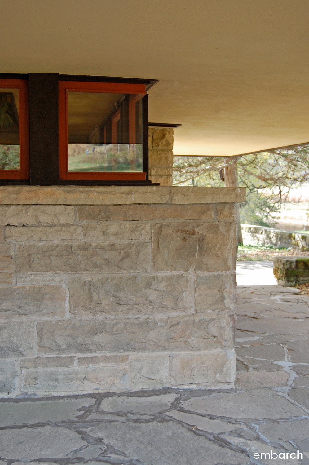 Taliesin East - exterior detail