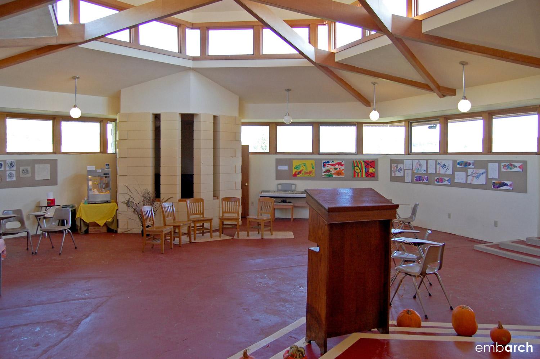 Wyoming Valley School - interior