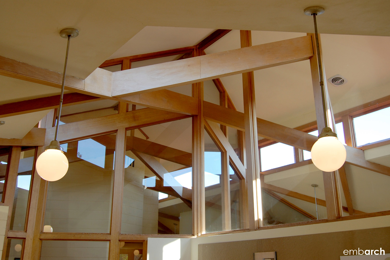 Wyoming Valley School - interior detail