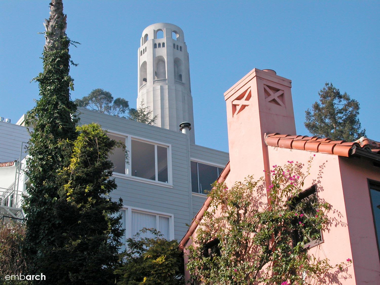 Coit Tower - view of exterior
