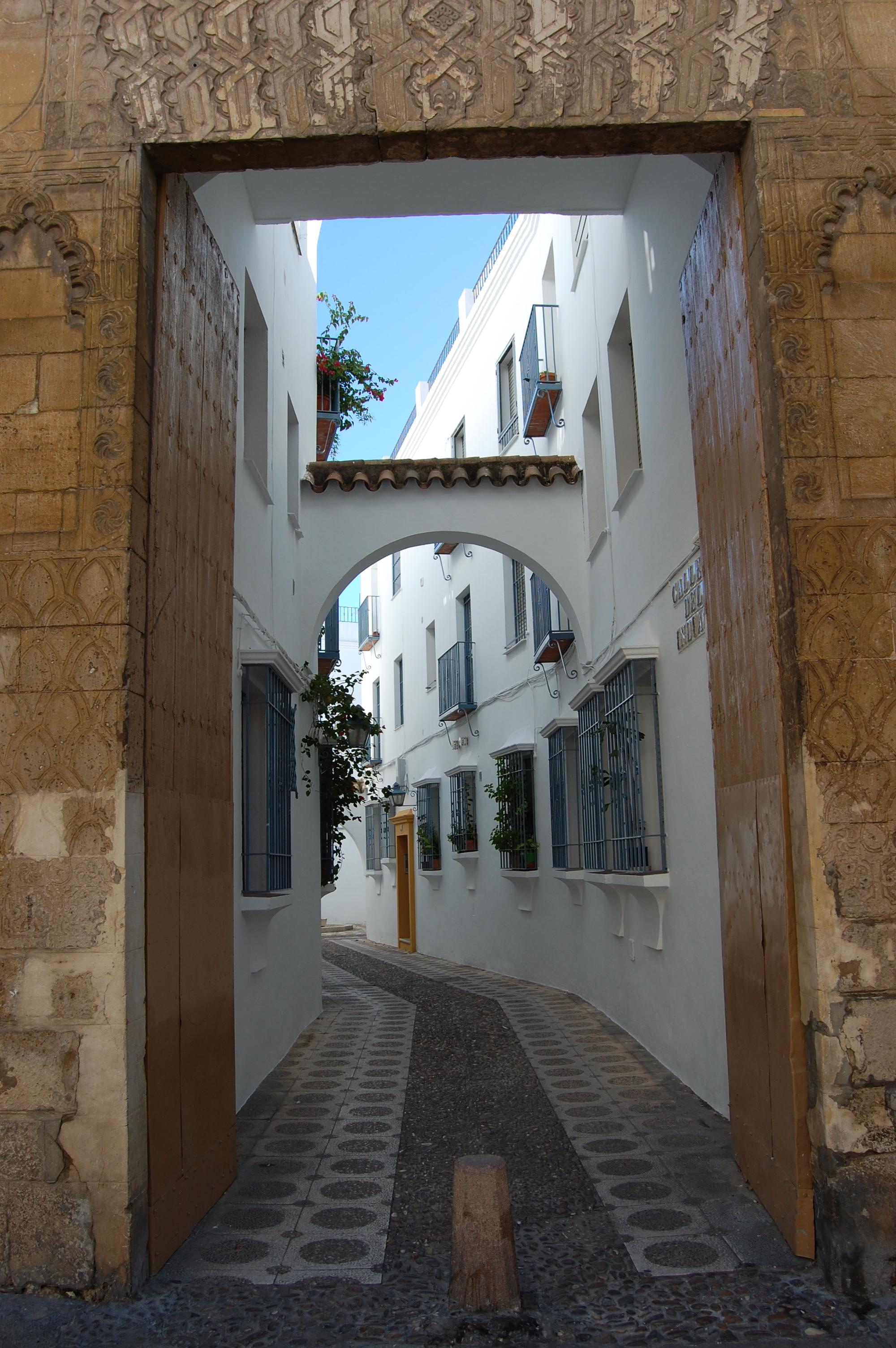 Side street in Cordoba Spain.