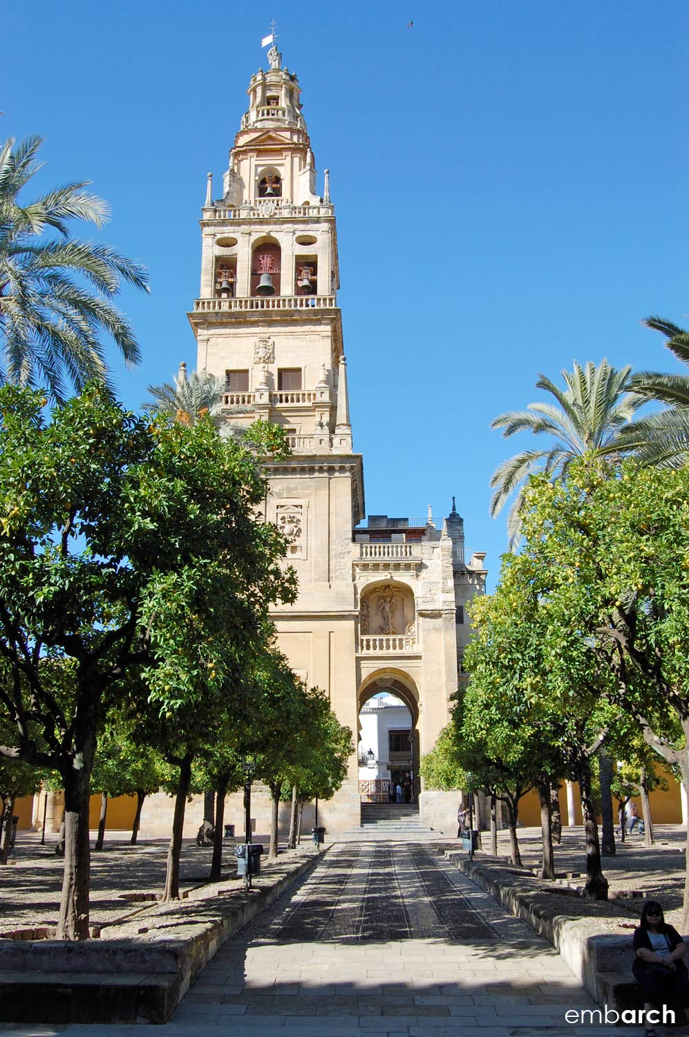 The Mosque-Cathedral of Cordoba - view of exterior