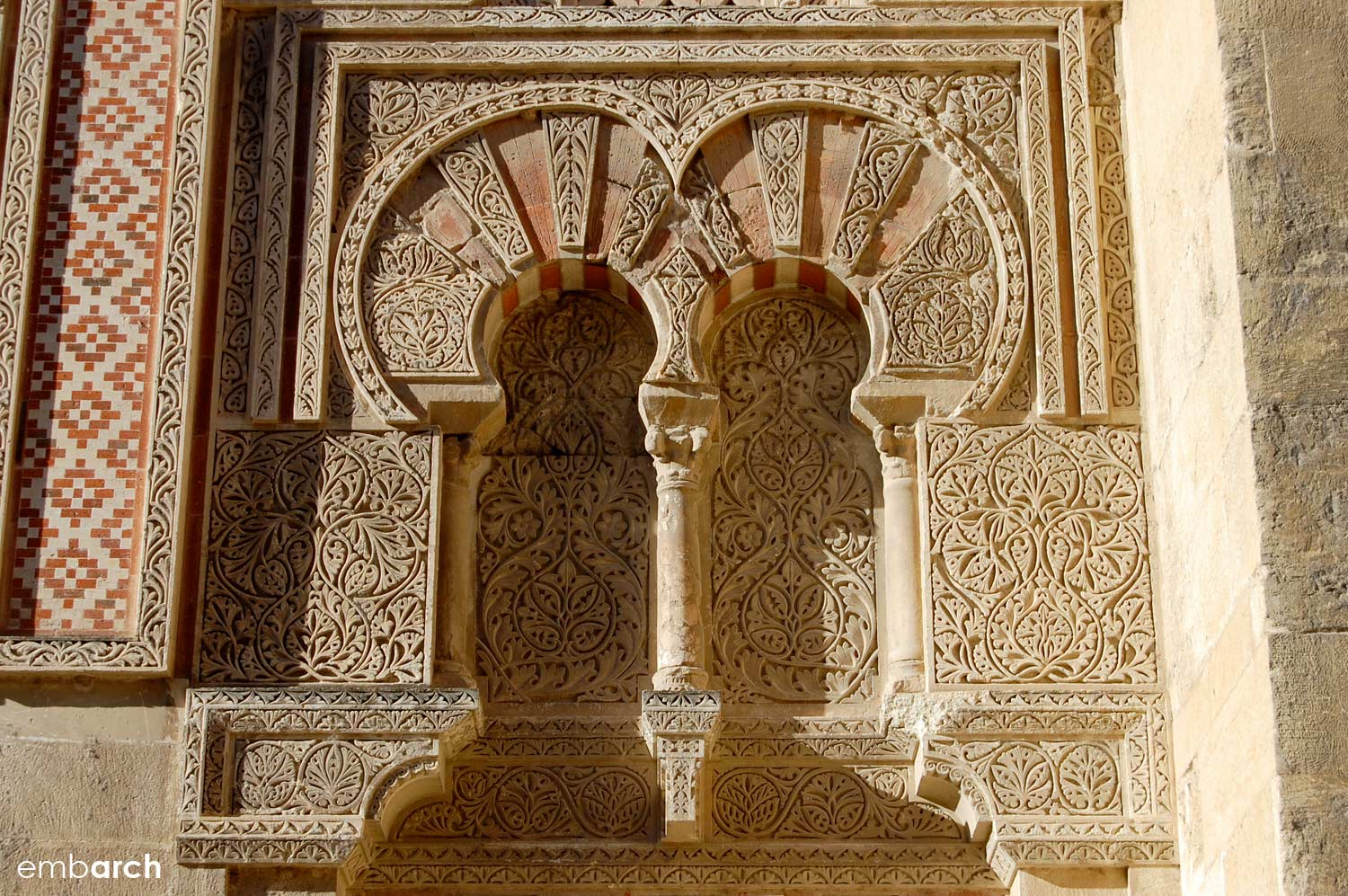 The Mosque-Cathedral of Cordoba - exterior detail