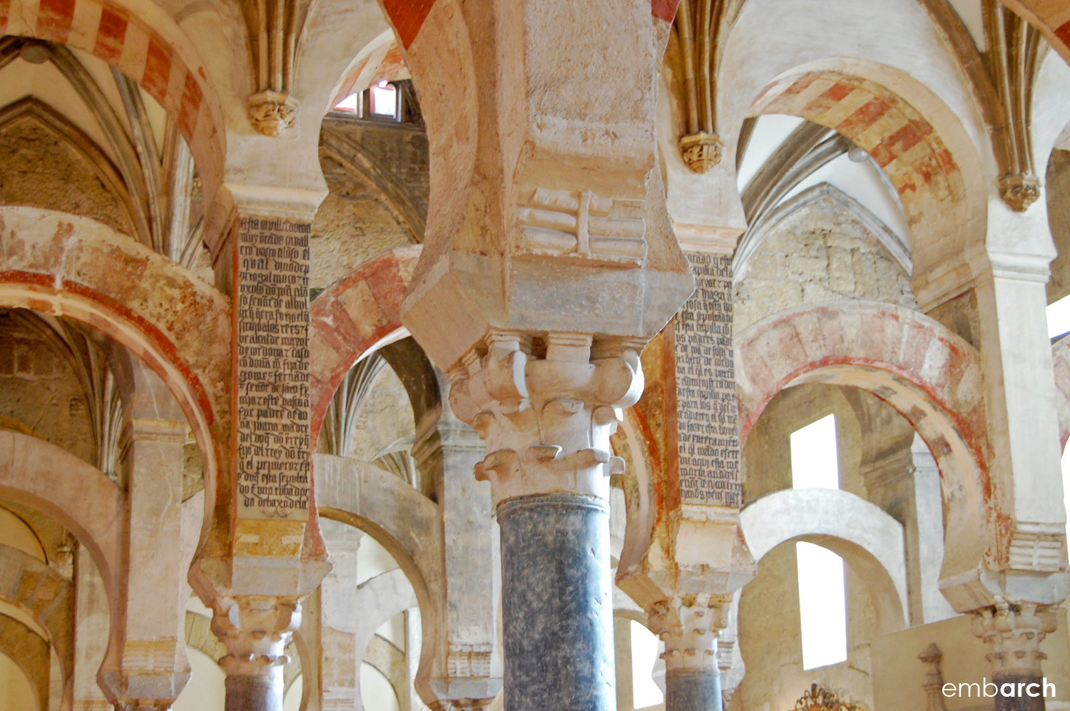 The Mosque-Cathedral of Cordoba - interior