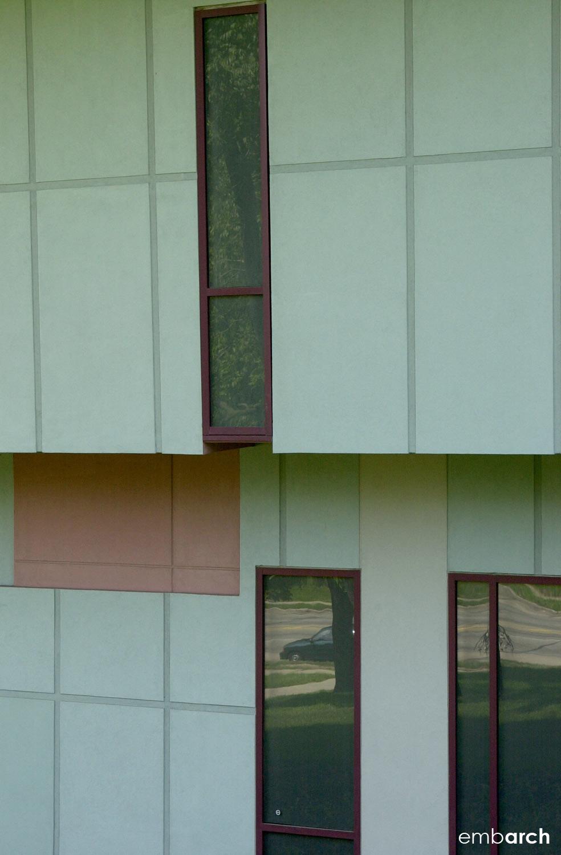 DAAP Aronoff Center at the University of Cincinnati - exterior detail