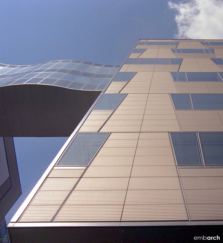 Berliner Volksbank Building - exterior detail