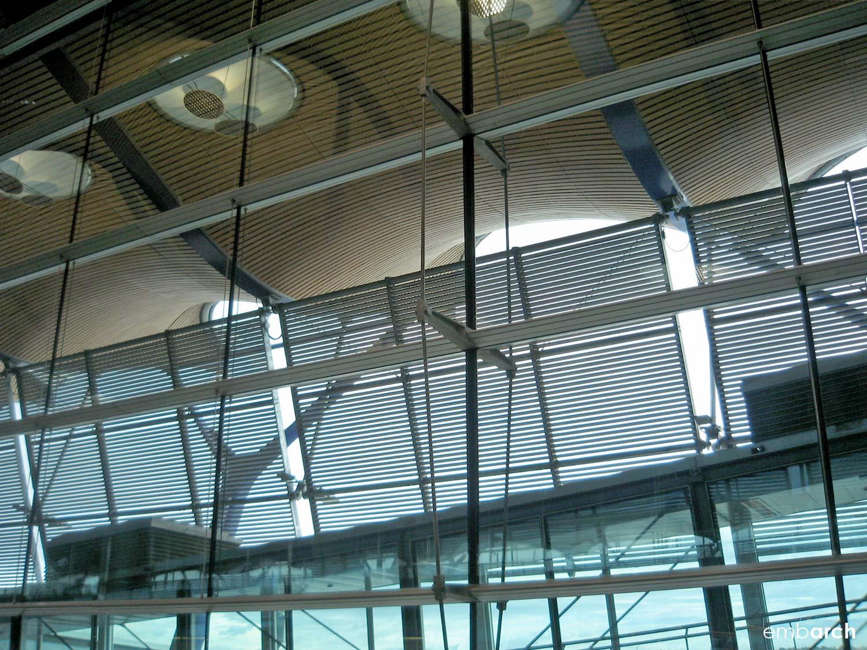 Madrid-Barajas Airport - interior detail