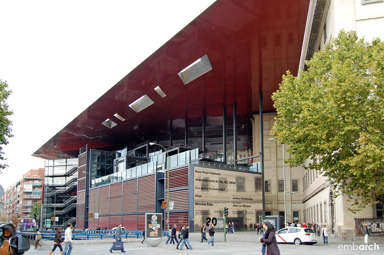 Museo Reina Sofia - view of exterior