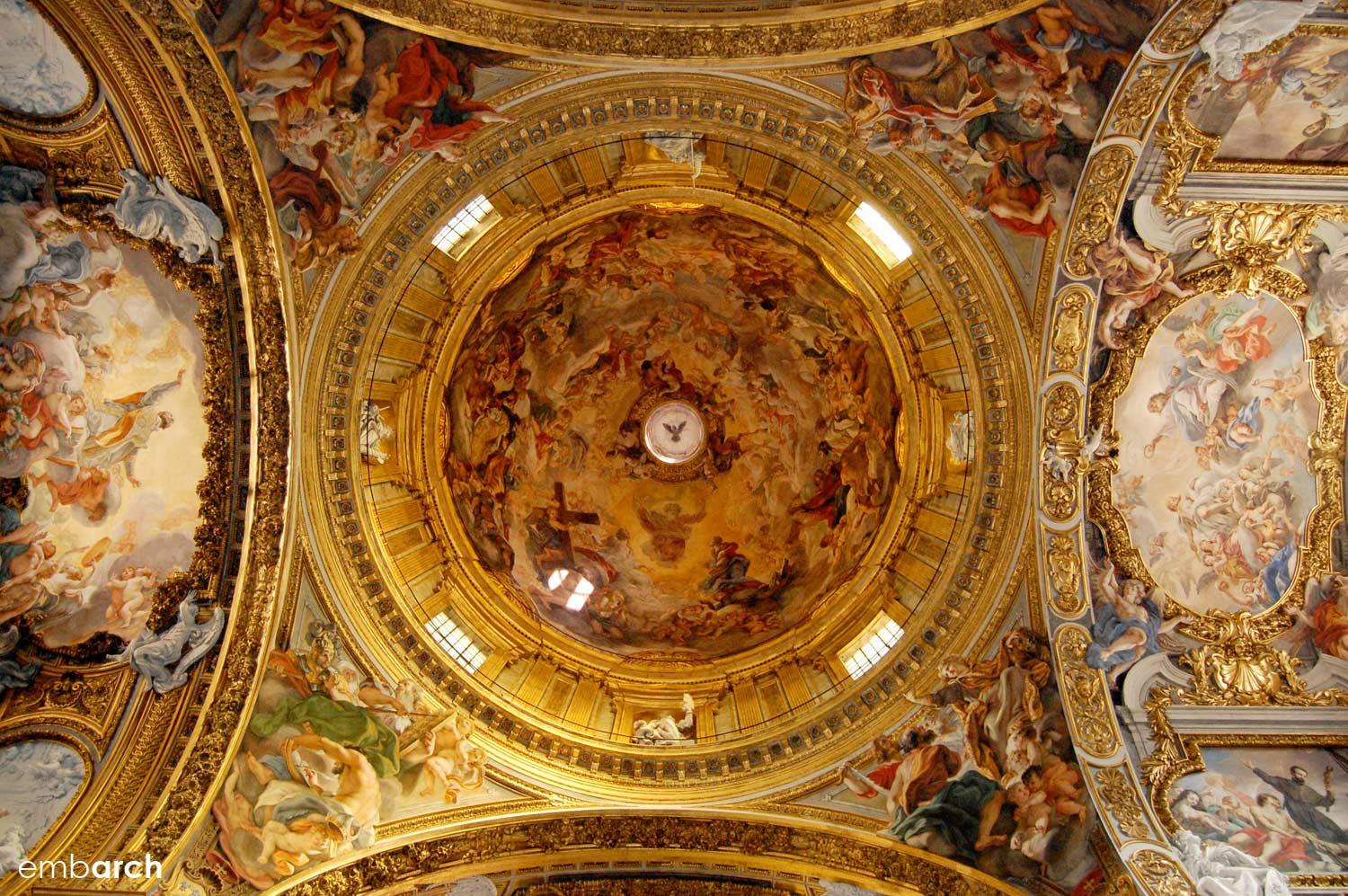 Church of the Gesù - interior