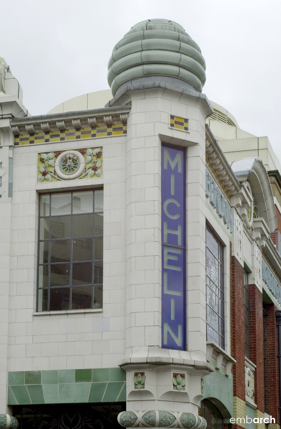 Michelin House - exterior detail