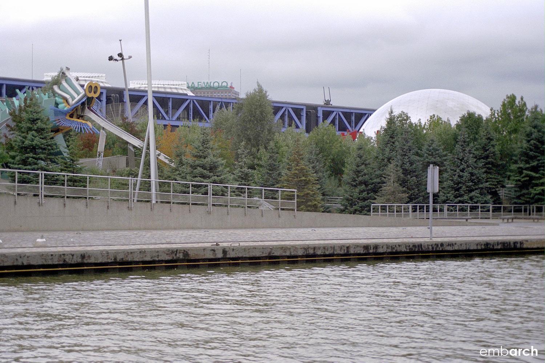 Cité des Sciences et de l'Industrie - view of exterior