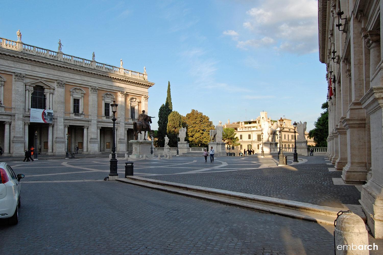 Capitoline Hill - Piazza del Campidoglio