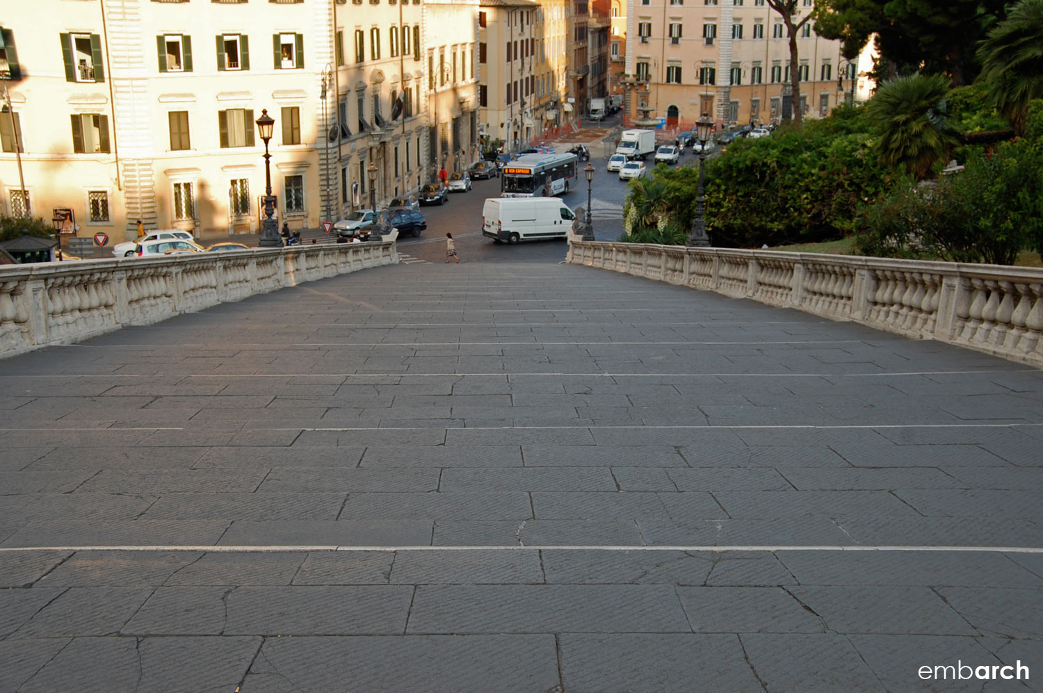 Capitoline Hill - stairs