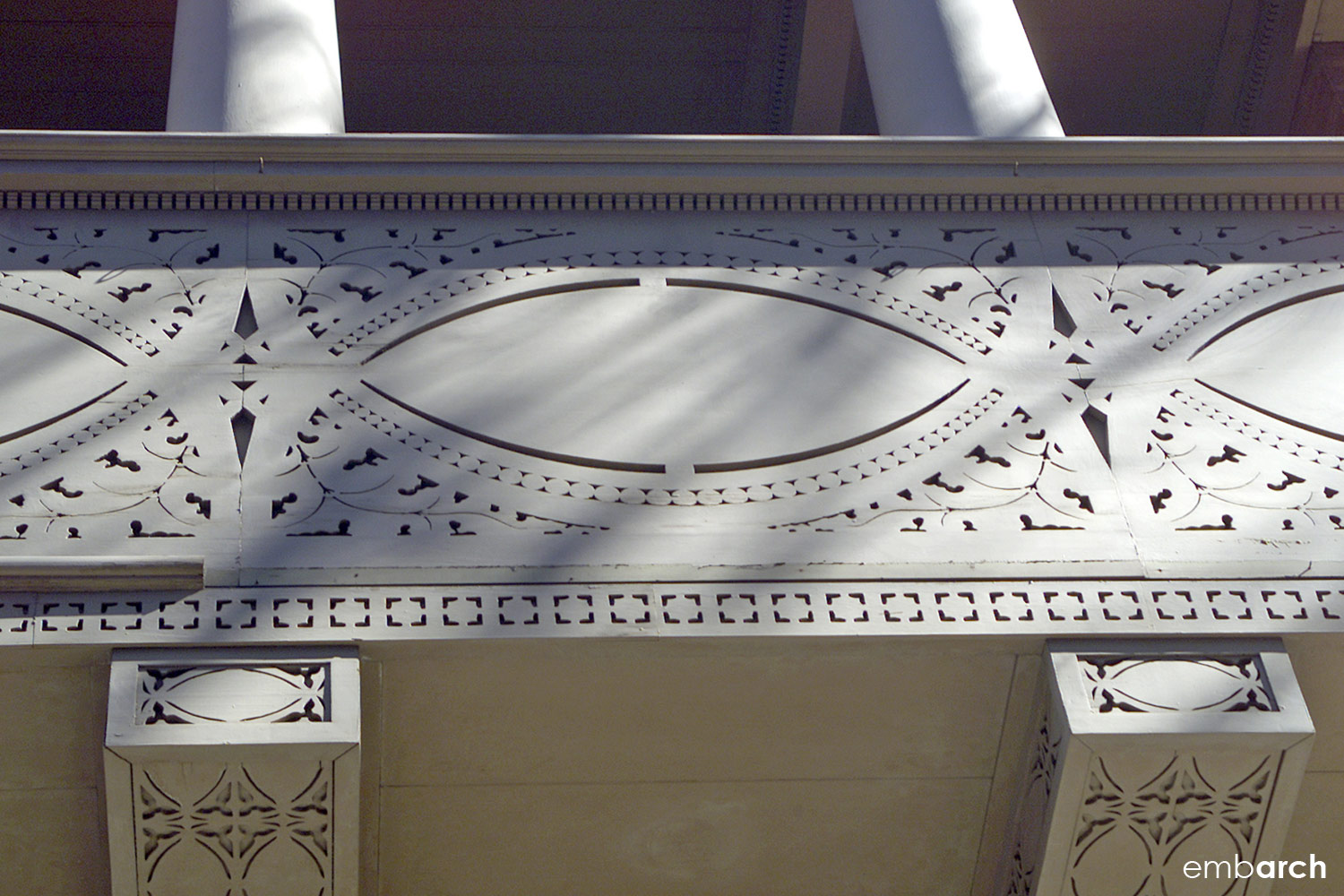 Charnley-Persky House - exterior detail