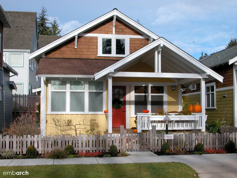 Ericksen Cottages, Bainbridge Island, Washington, USA