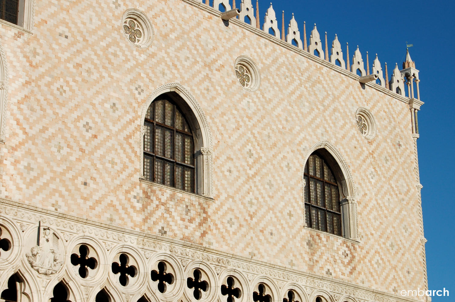 Palazzo Ducale - exterior detail